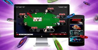 Приложение Покерстарс на ПК и смартфон